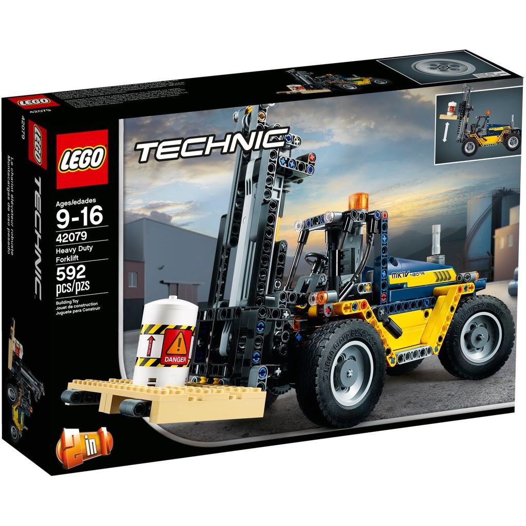 Lego Technic 42079 Heavy Duty Forklift Shopee Malaysia