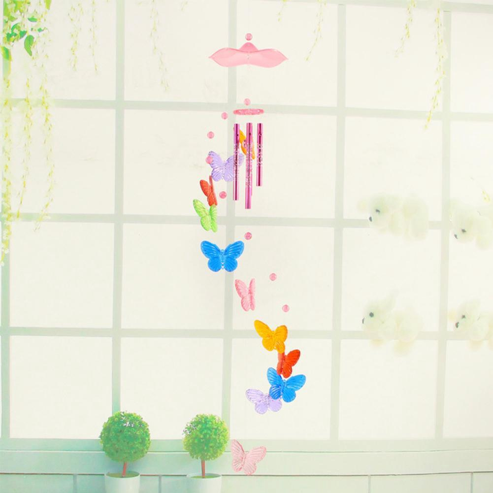 Butterfly Bell Wind Chime Creative Home Yard Wind Chimes Outdoor Garden Decor US