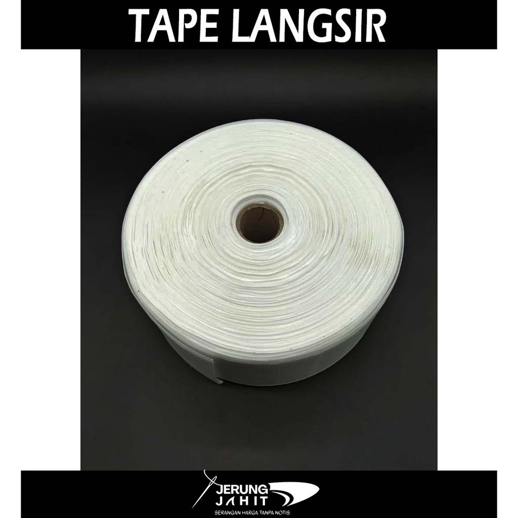 Tape Langsir/Curtain Tape/Interlining Tape Meter