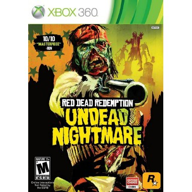 XBOX360 Red Dead Redemption Undead Nightmare