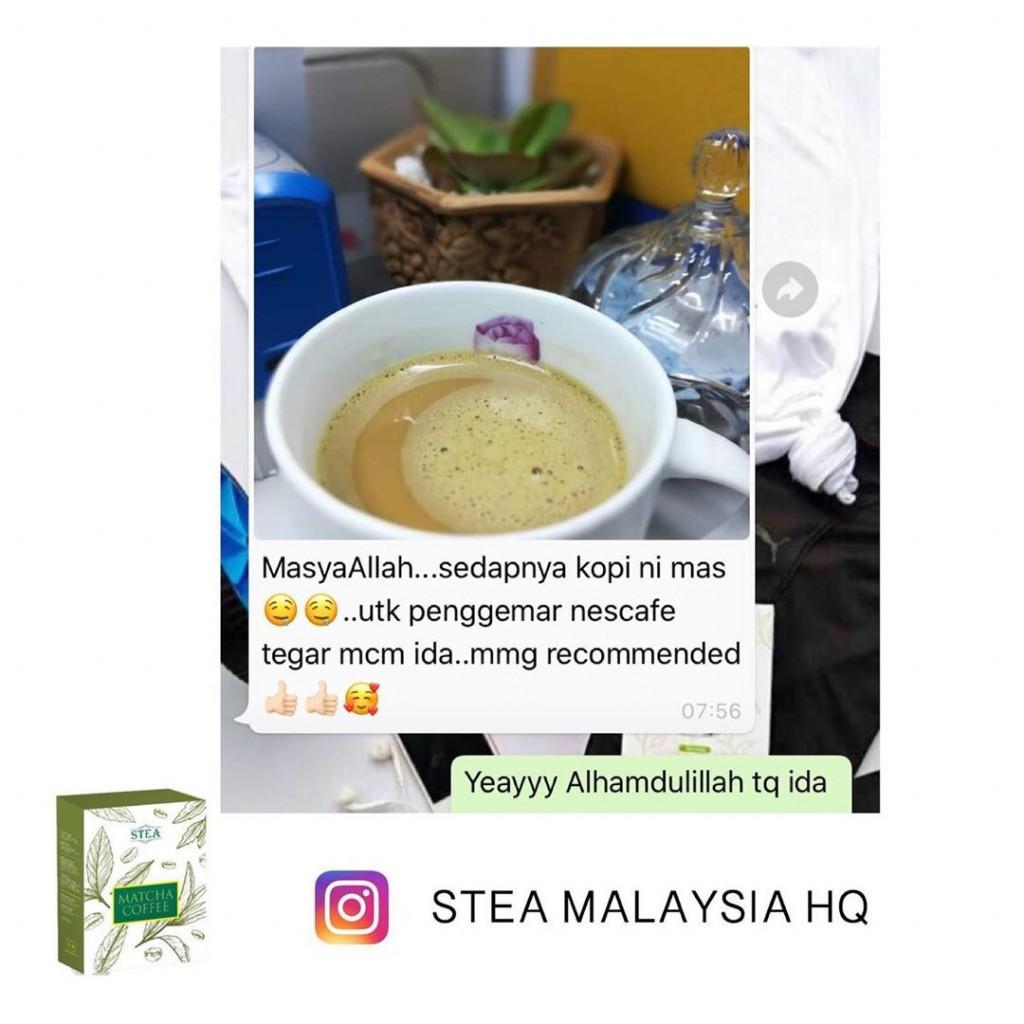 STEA Matcha Coffee - Premium Coffee with Matcha Green Tea