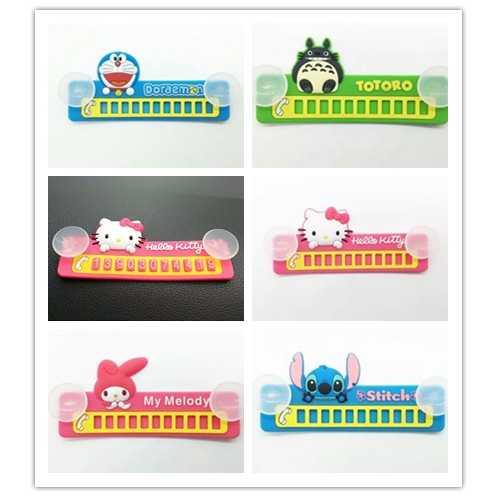 Hello Kitty Cute Cartoon Parking Notification Phone Number Plate Car Reminder