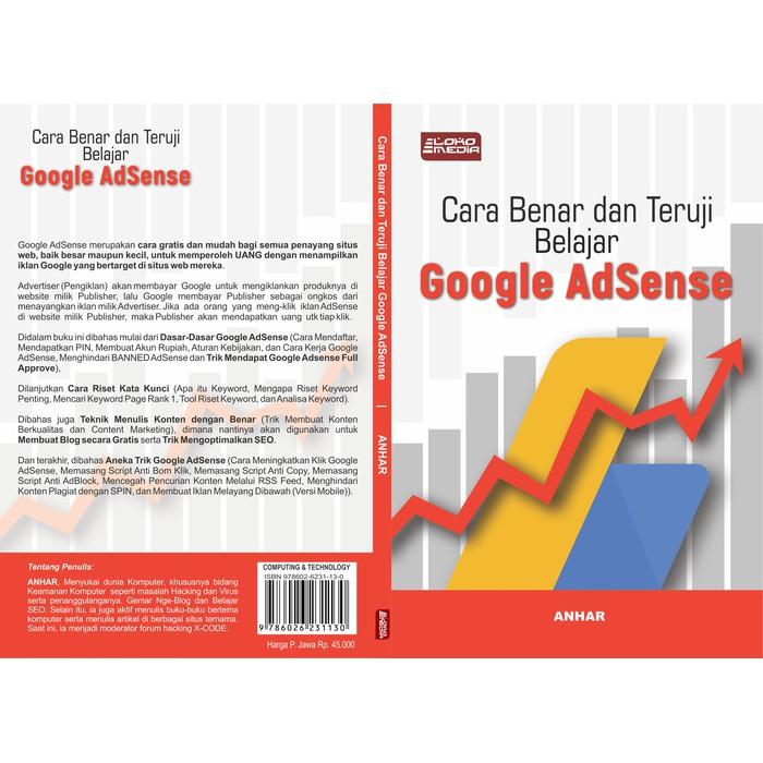 Google Adsense Books The True And Tested Way To Learn Google Adsense Buku Google Adsense Cara Benar Dan Teruji Belajar Google Adsense Shopee Malaysia