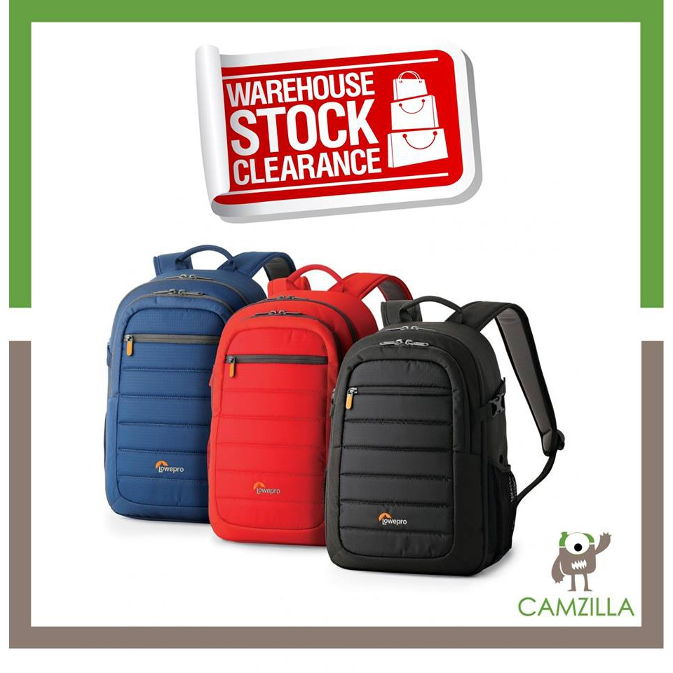 Original Lowepro Photo Hatchback 16l Aw Backpack Galaxy Blue Red Shopee Malaysia