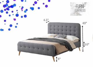 low priced a857f 84561 Scandinavian Bed frame