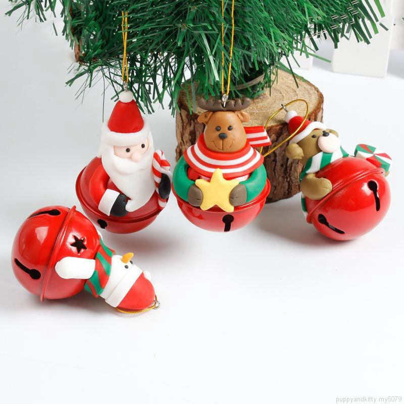 Snowman//Old Man//Bear//elk Christmas Tree Ornaments Bigsweety Christmas Bells Decorations for Home