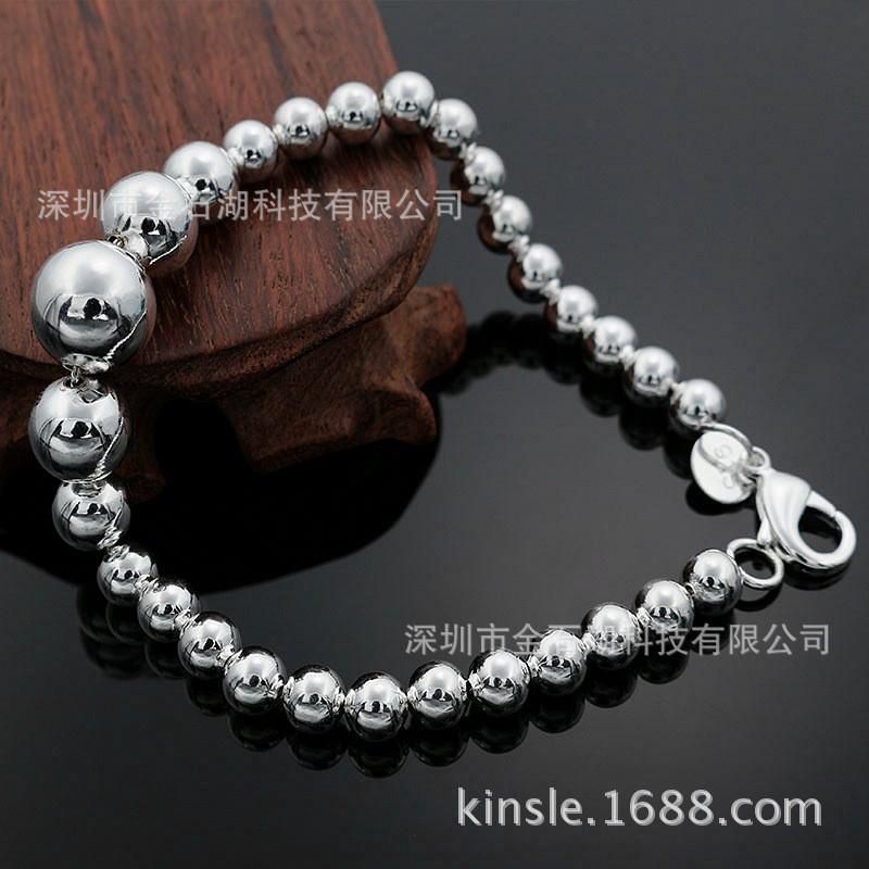e344ee6a0 6MM Beads Explosion Fashion Accessories Korean Trend Jewelry Taobao Hot  Bracelet | Shopee Malaysia