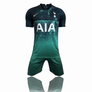 official photos d133b 2d832 Men set 2018/19 Tottenham 3rd Men's soccer jerseys short sleeve football  jerseys