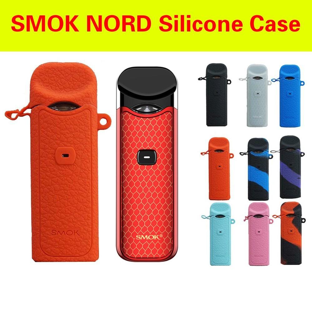 12 color SMOK nord pod Kit Silicone case Protective Durable cover