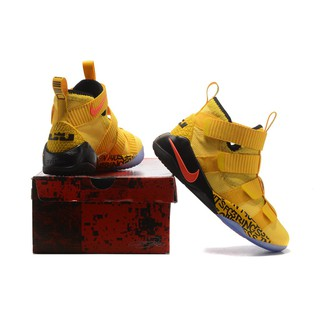 size 40 8f882 624ae Original Nike LEBRON soldier James soldiers 11 Sports real basketball shoes  men   Shopee Malaysia