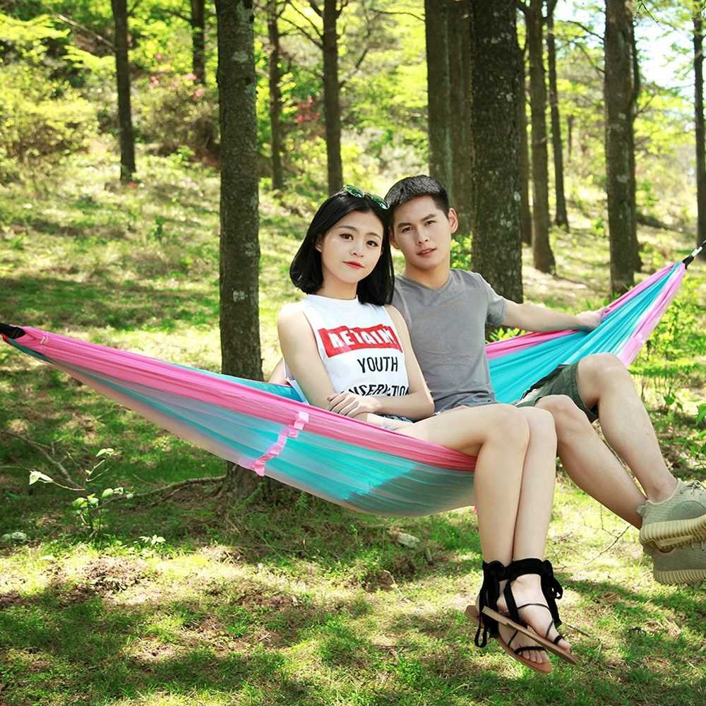 Portable Camping Hammocks With Mosquito Nets