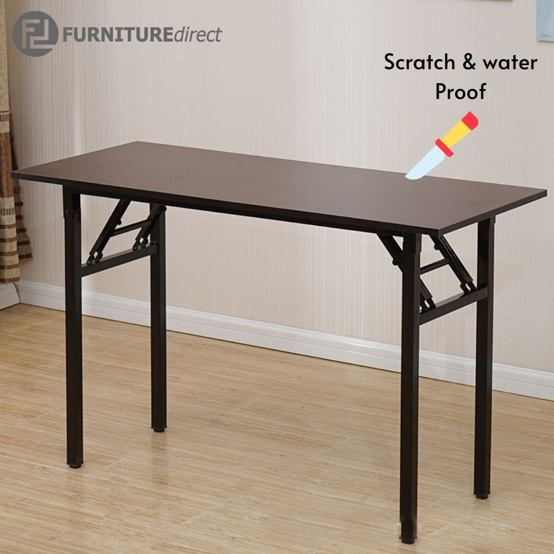 Furniture Direct 0800 Foldable banquet table in waterproof surface folding table study desk 书桌