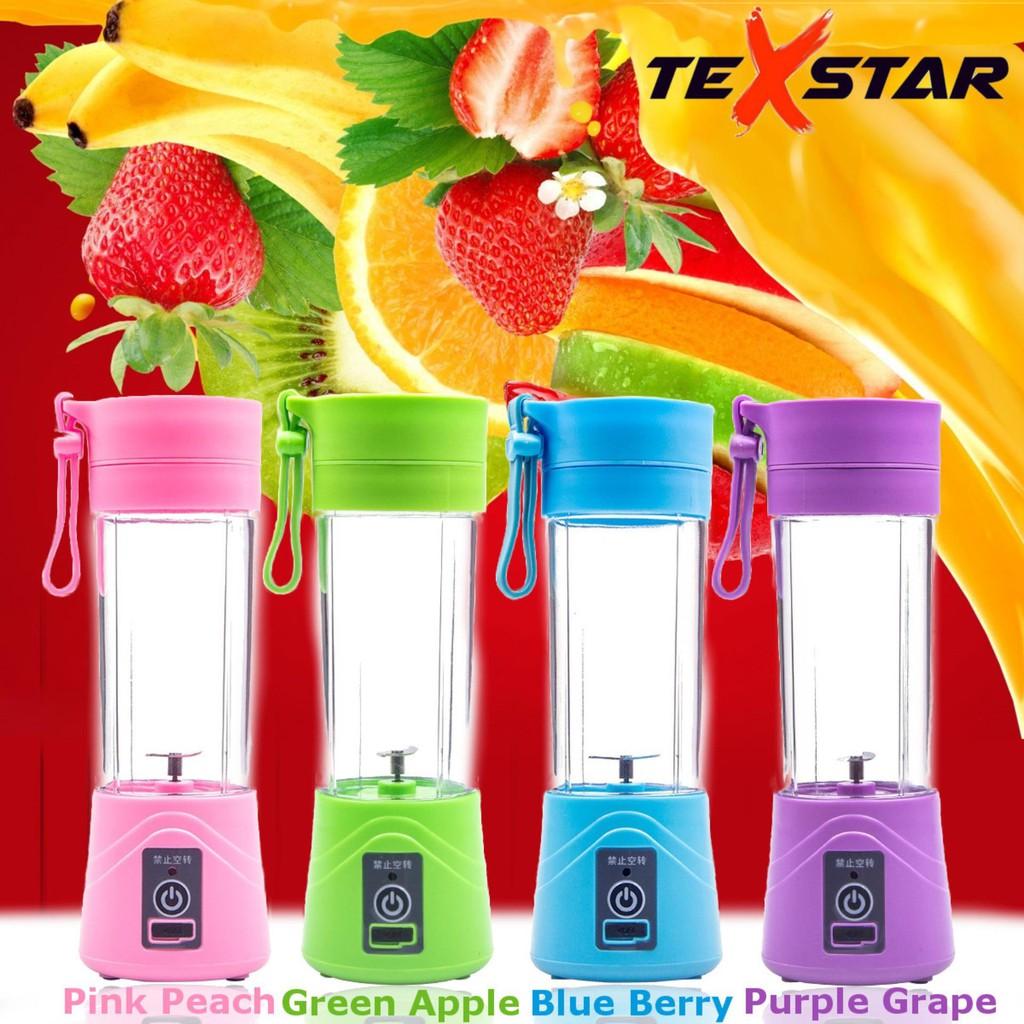 Portable USB Rechargeable Juicer Blender Juice Maker 380ML