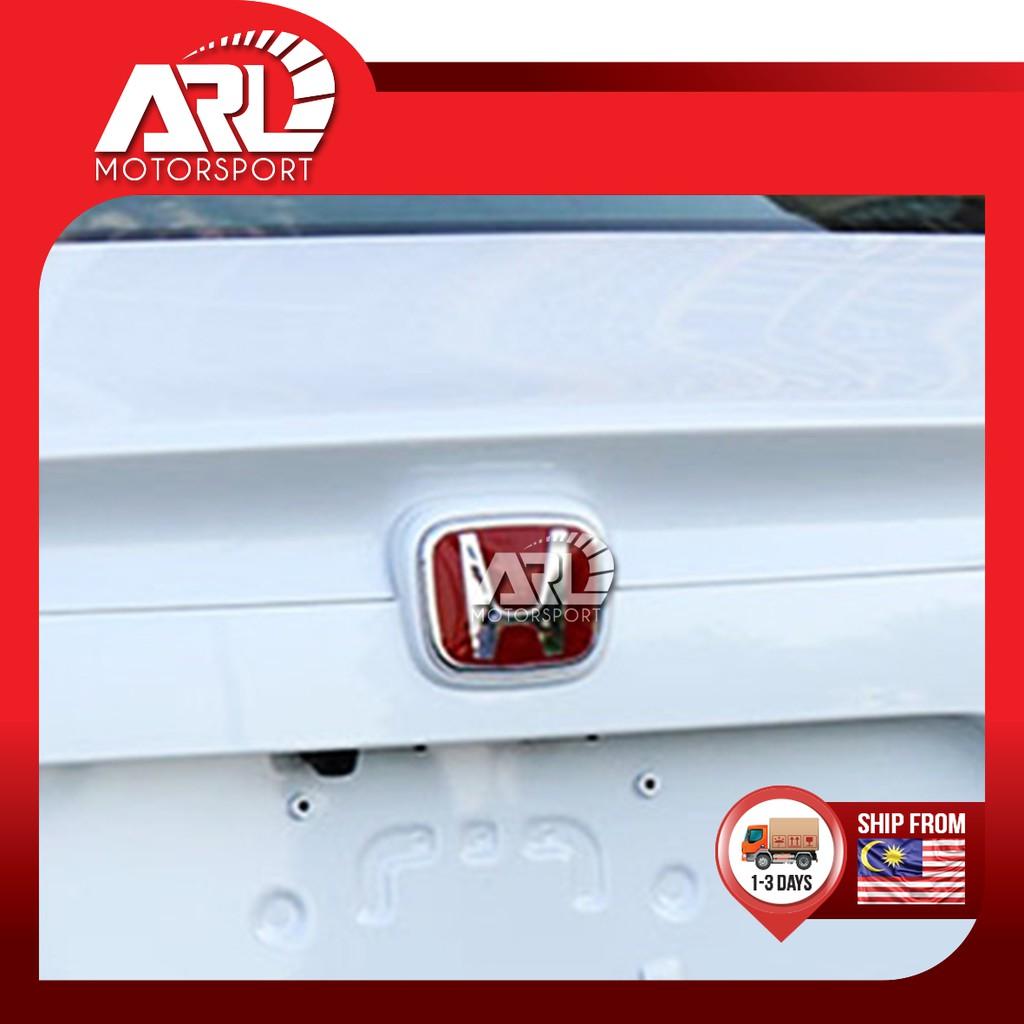 Honda Red Emblem Stick Type Honda Logo Decoration Car Auto Acccessories ARL Motorsport