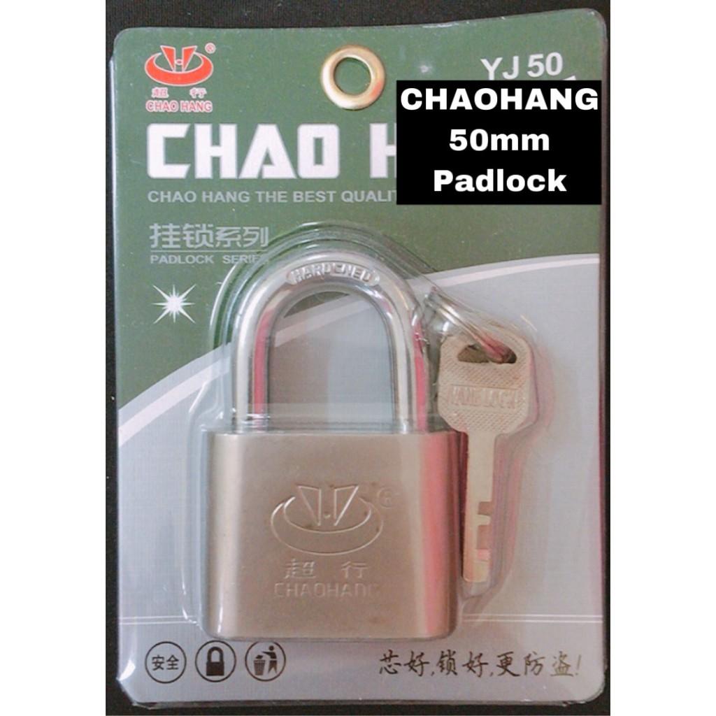 CHAOHANG Heavy Duty Brass Laminated Anti Rust Padlock YJ50
