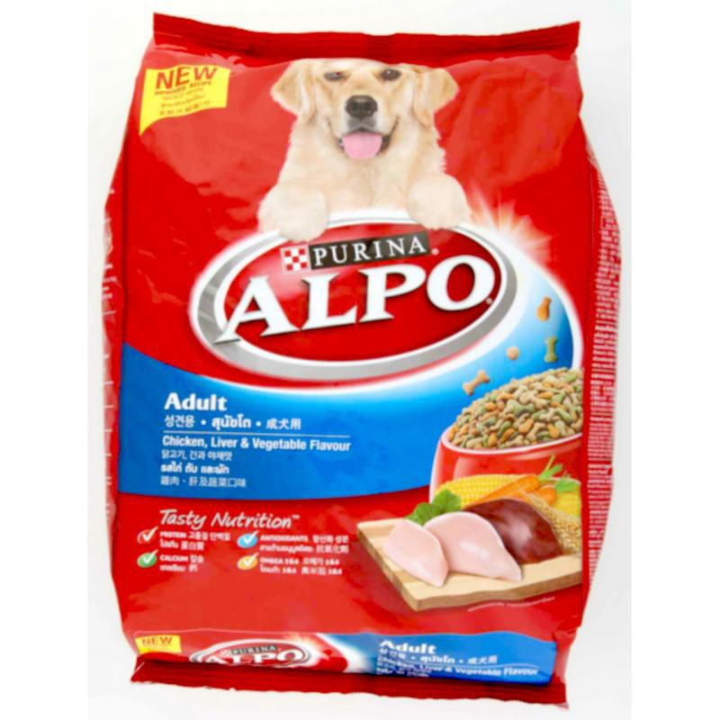 Alpo Beef + Liver + Vegetable Flavour Dry Adult Dog Food (10kg) | Shopee Malaysia