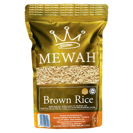 Mewah Brown Rice 1KG