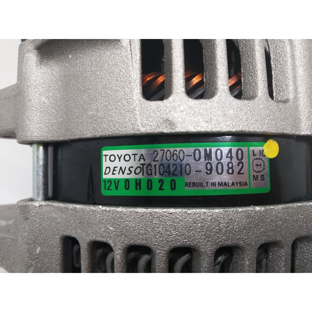 TOYOTA VIOS DUGONG ALTERNATOR Alternator for Vios 2007-2014, KUN90, NCP 93