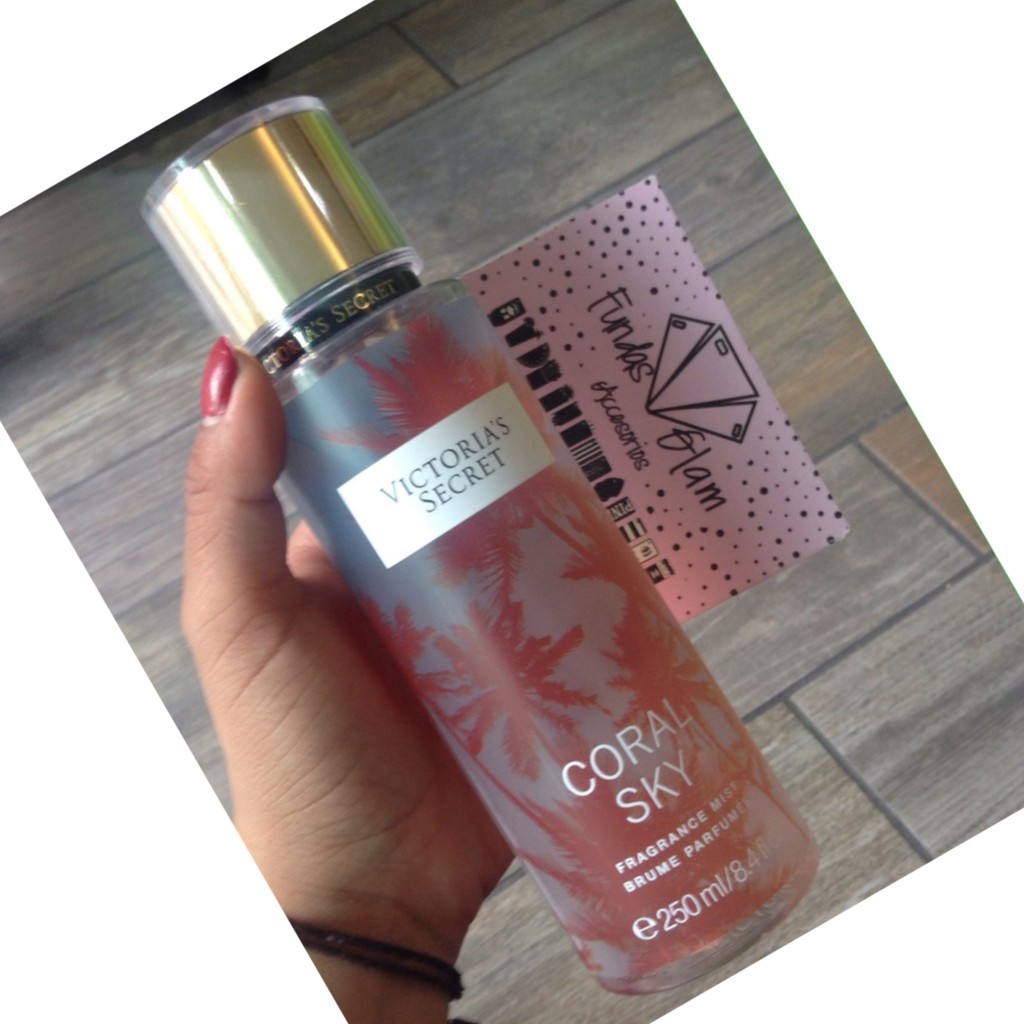 55f78fea3c Victoria Secret Round Shape 250Ml Coral Sky