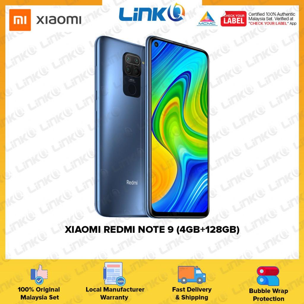 Xiaomi Redmi Note 9 (4GB RAM + 128GB ROM) Smartphone - Original 1 Year Warranty by Xiaomi Malaysia (MY SET)