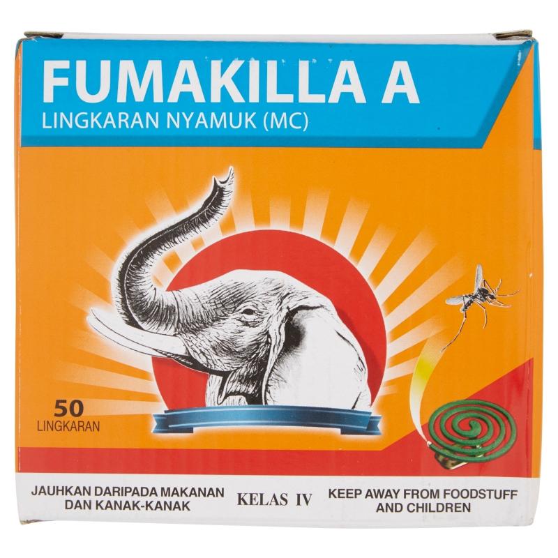 Fumakilla D1 Mosquito Coil (50 Coil/625g)