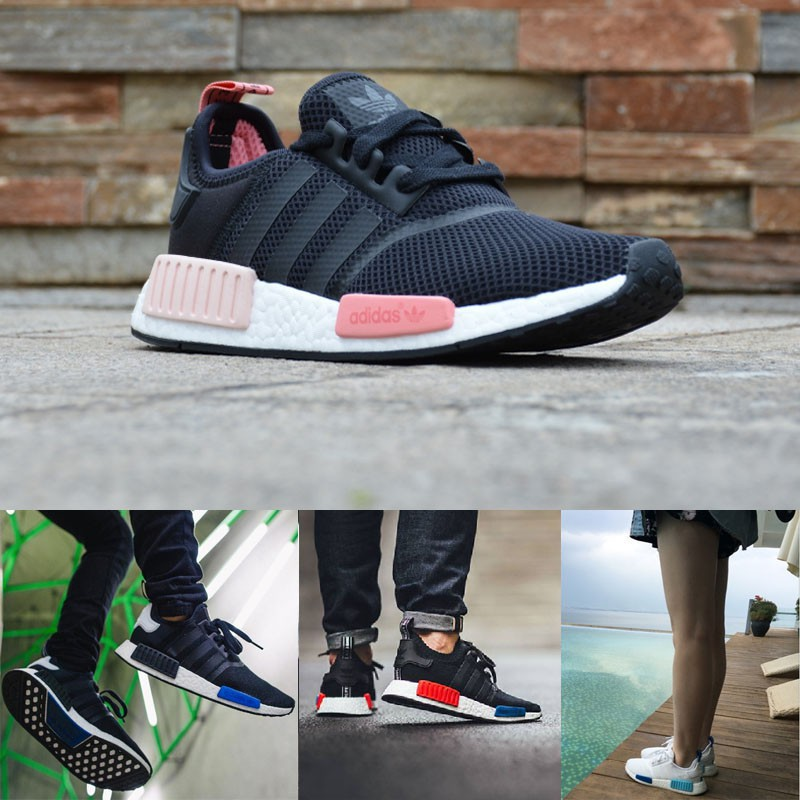 adidas nmd r1 womens pink and black