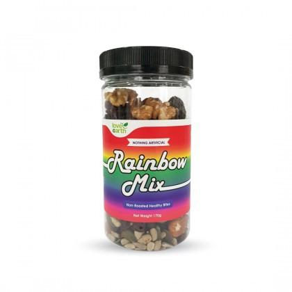 Love Earth Rainbow Mix (彩虹瓶)天然 坚果果干