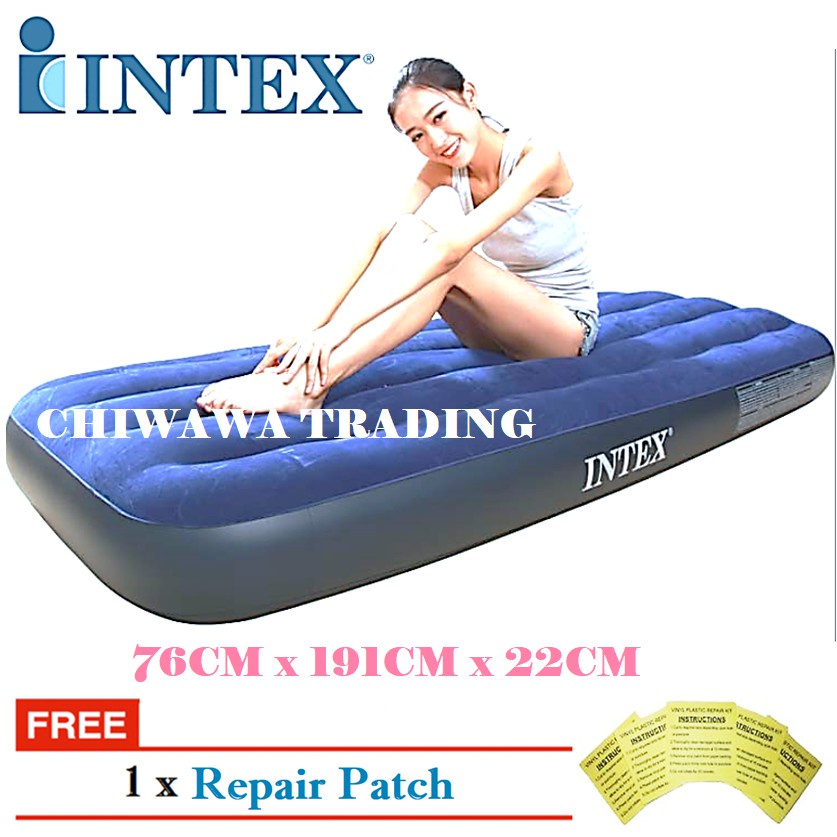 PROMOTION 64756  INTEX Inflatable Bubble Air Mattress Relax Massage Air Bed Sofa