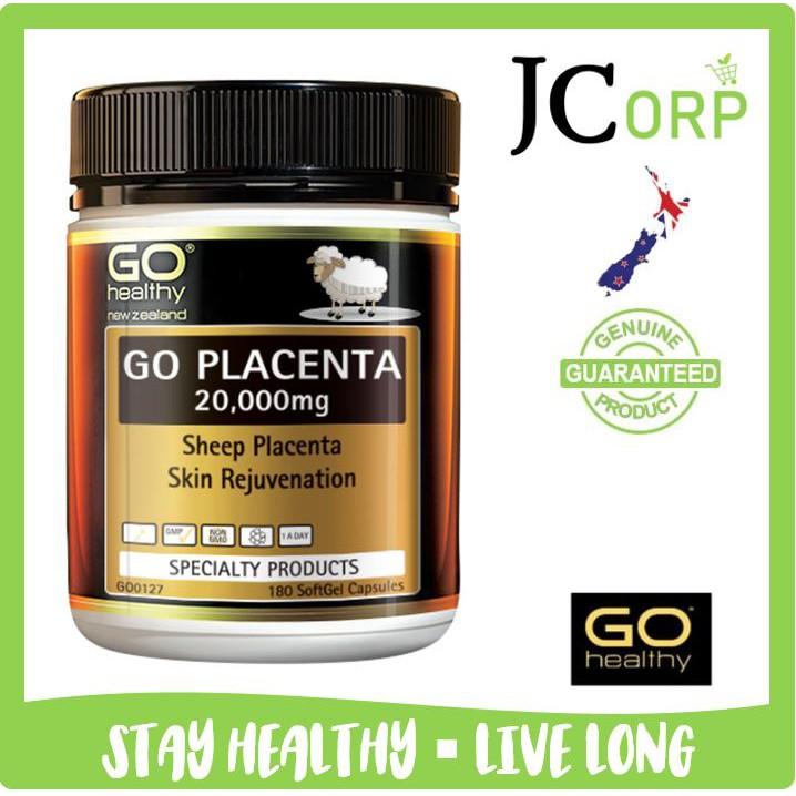 Go Healthy Go Sheep Placenta 20 000mg 100 180 Capsules Shopee Malaysia