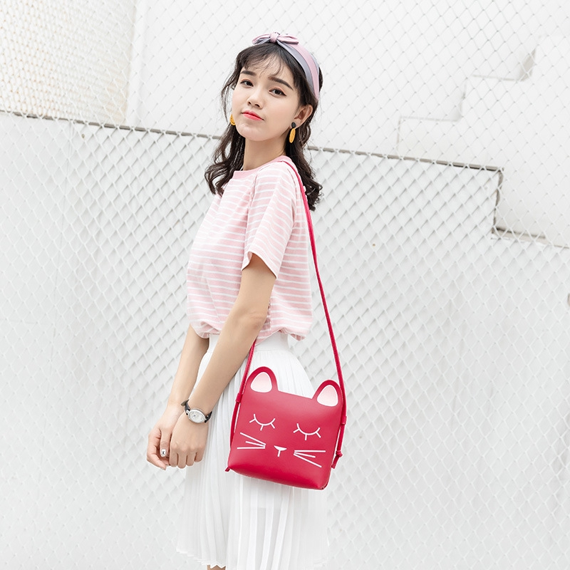 Woman Shoulder Fashion Small Square Bag Ladies Shopping Personalized Handbag New