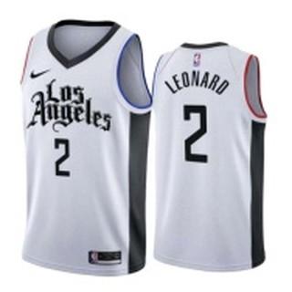 Nba Los Angeles Clippers Jersey Sets 2 Kawhi Leonard Jersey Tracksuits Basketball Uniforms Kit Shopee Malaysia
