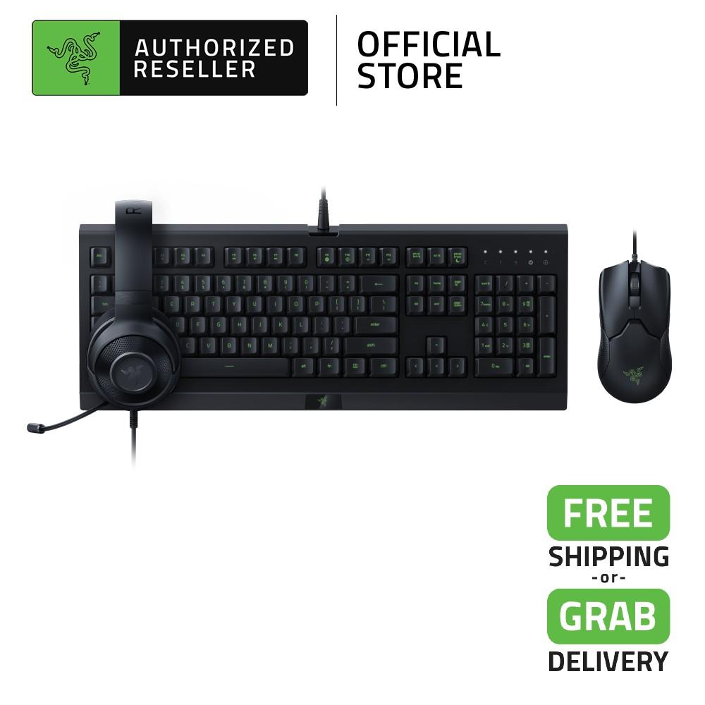Razer Power Up Bundle  - Kraken X Lite Gaming Headset, Cynosa Lite Gaming Keyboard, Viper Gaming Mouse