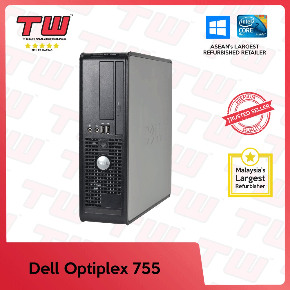 Dell Optiplex 755 Core 2 Duo Desktop PC (Factory Refurbished) With Windows  OS