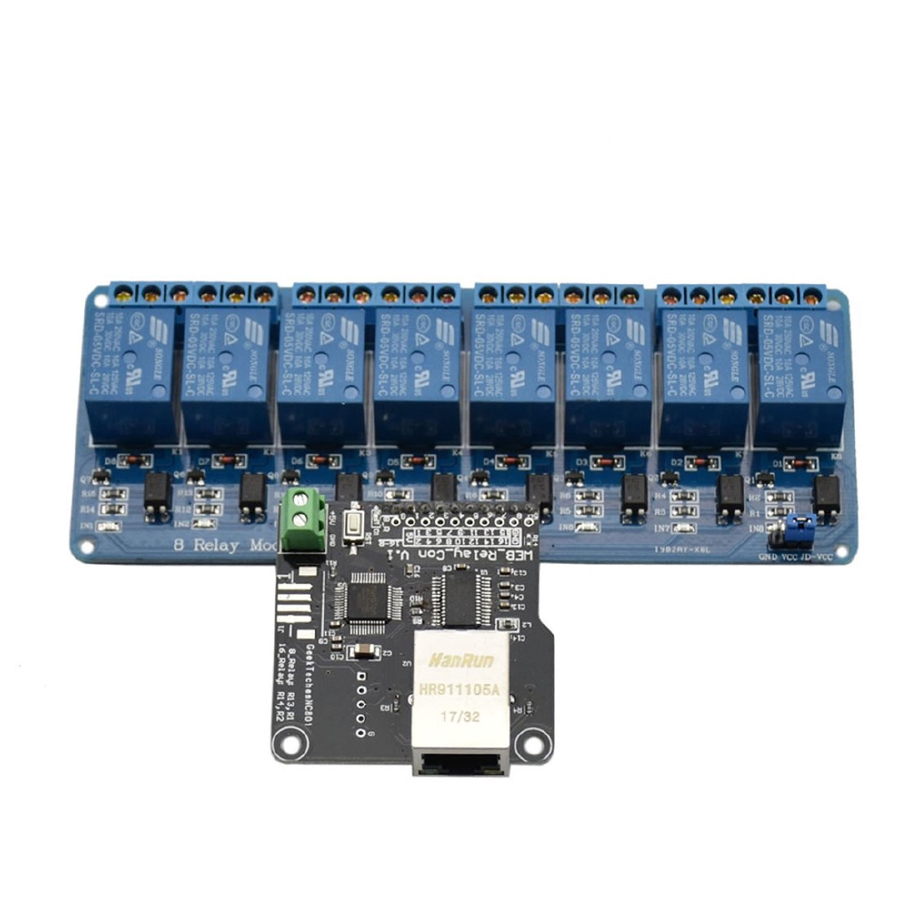 Relés SainSmart 12V 8 Channel USB Relay Module Opto-couple For