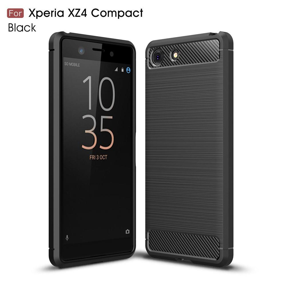 เคสโทรศัพท์คาร์บอนไฟเบอร์กันกระแทกสำหรับ Sony Xperia XZ 4 Co