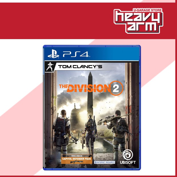 PS4 Tom Clancy's The Division 2 Washington | Standard (English/Chinese) *  全境封鎖 *