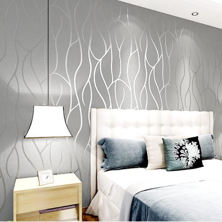 53cm 10m Wallpaper Moden Amerika Tiruan