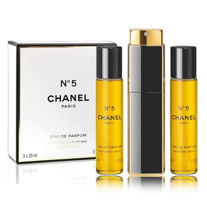b22776d47d14 Chanel N°5 EAU DE PARFUM PURSE SPRAY 3X20ml | Shopee Malaysia