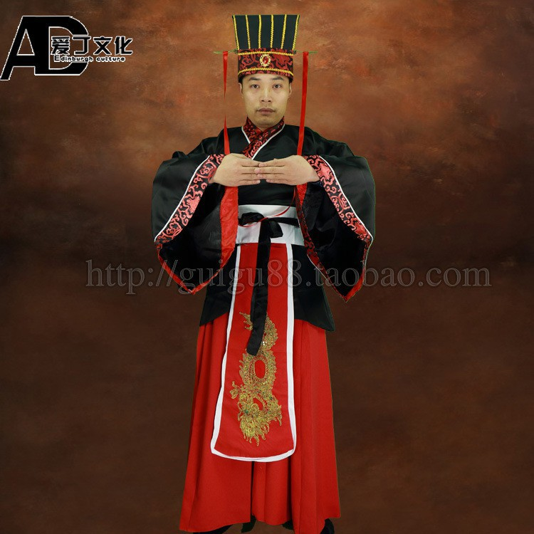37238630fff9a Men's costumes Hanfu stage performance film and television costumes Hanfu  Liu Be