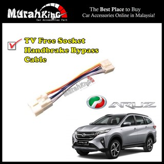 Perodua Aruz New Myvi Handbrake ByPass Cable Video In Motion