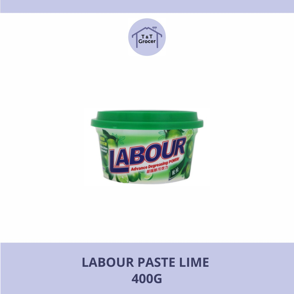 Labour Paste 400g (Lemon/ Lime)