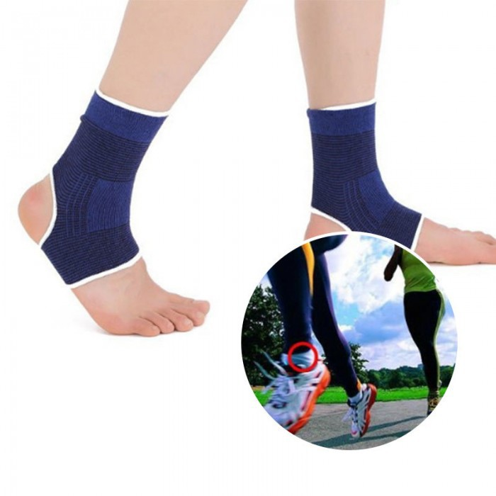 c9d76d1d7d54 ELASTIC ANKLE BRACE SUPPORT BAND SPORTS GYM FOOT PROTECTIVE / STOKIN SUKAN  BOLA | Shopee Malaysia