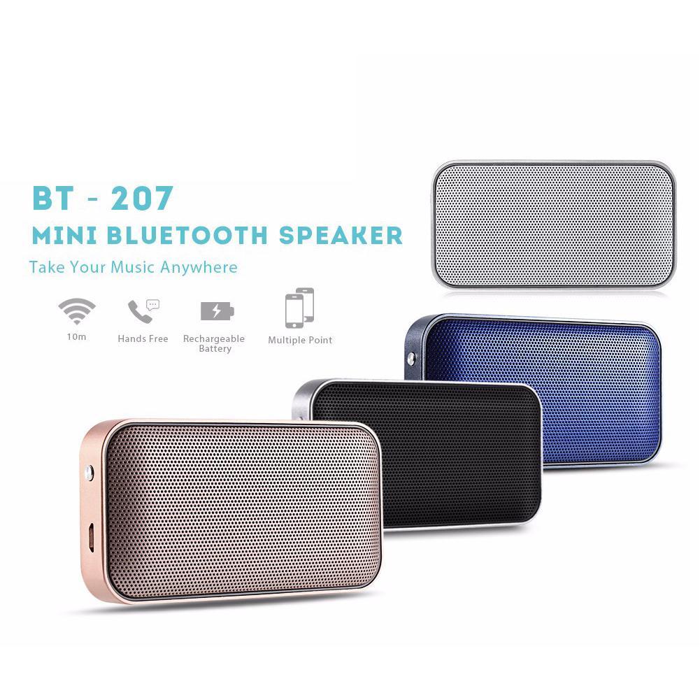 e2d296fdd8bfea Bluetooth Speaker Hands-free Call Wireless Ultrathin Music Home Audio Portable  Pocket Mini Metal Sound Box Multifunction | Shopee Malaysia
