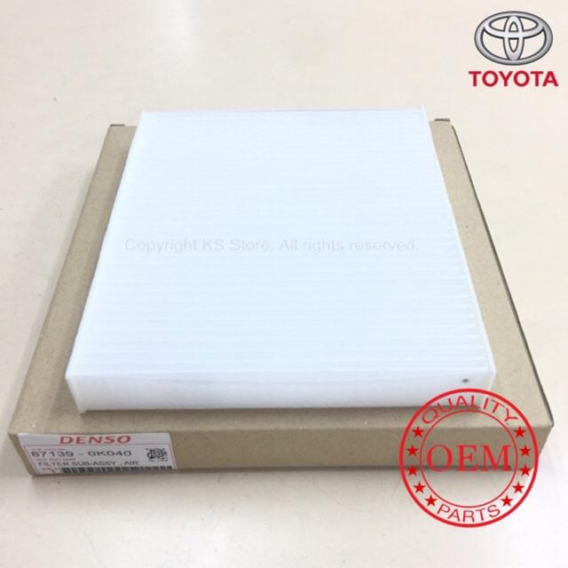 Toyota Vellfire/Alphard/Hilux Revo 2015/Innova 2016 Cabin Air Filter