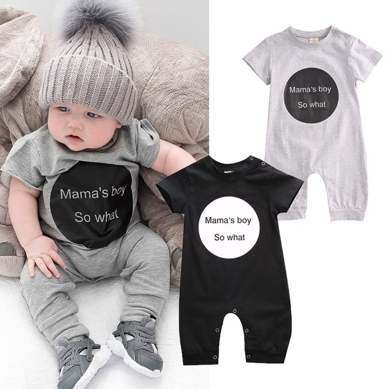 Toddler Newborn Baby Girl Boy Romper Bodysuit Jumpsuit Playsuit Clothes Outfit