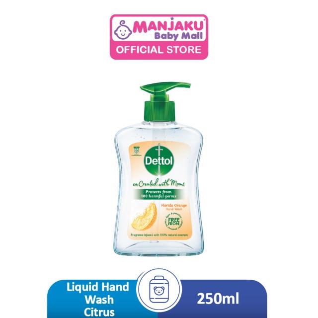 Dettol Liquid Hand Wash  Co-Created with Mom Citrus - 250ml