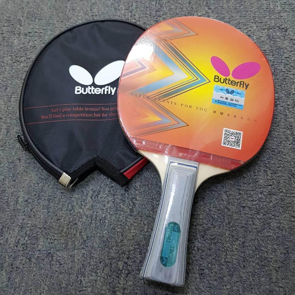Butterfly Table Tennis Bat TBC202 / TBC 401 ( With Cover Inside )