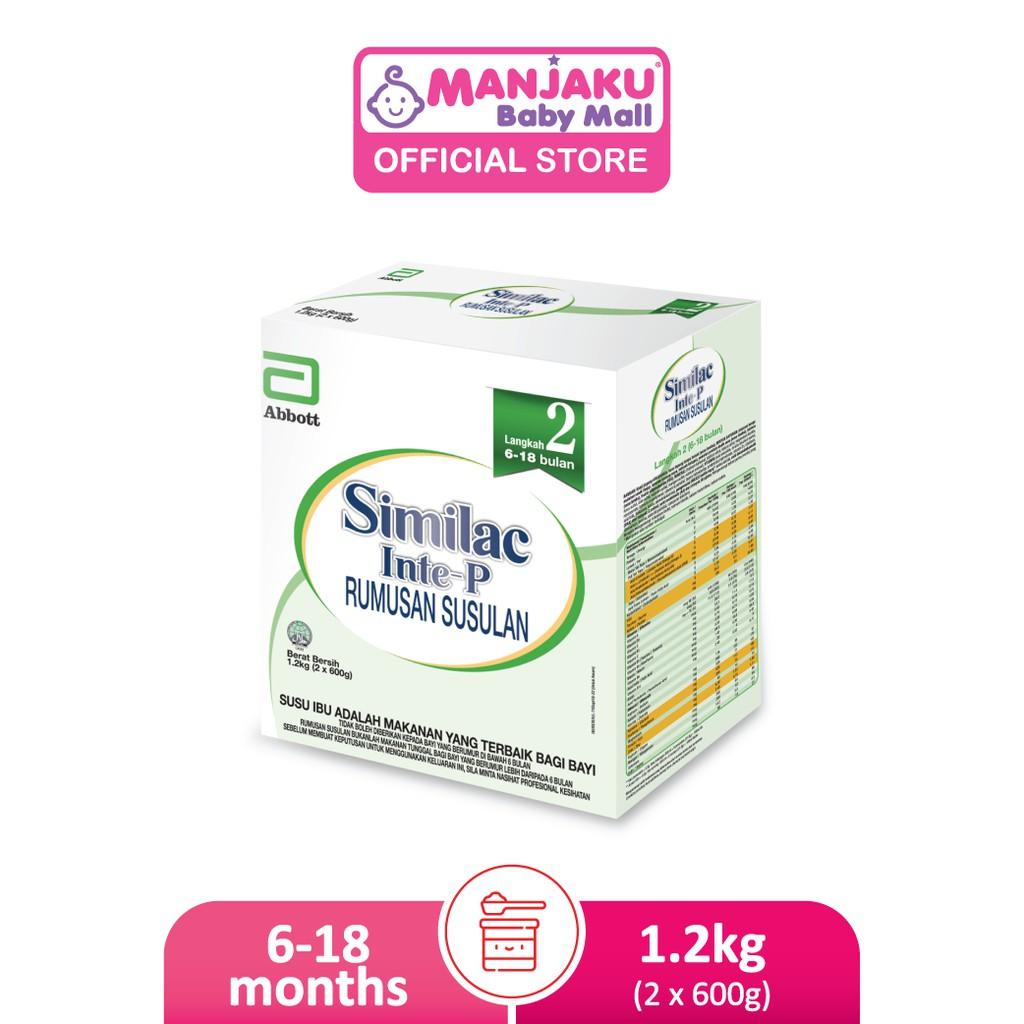 Similac Inte-P Step 2 Follow Up Milk Formula (1.2kg)