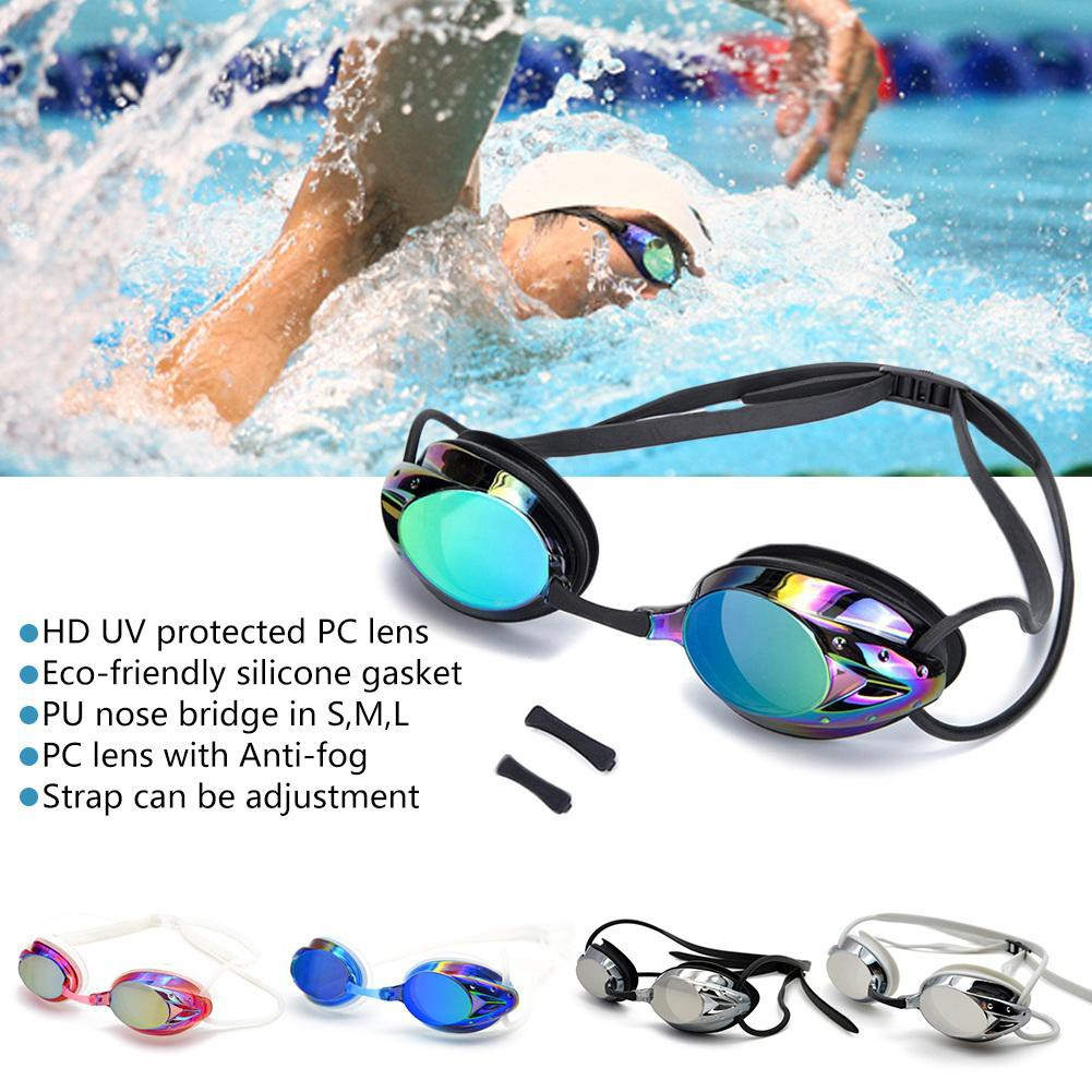 1aea26e000 Swimming Goggles Myopia Swim Glasses Anti Fog UV Protection Optical  Waterproof