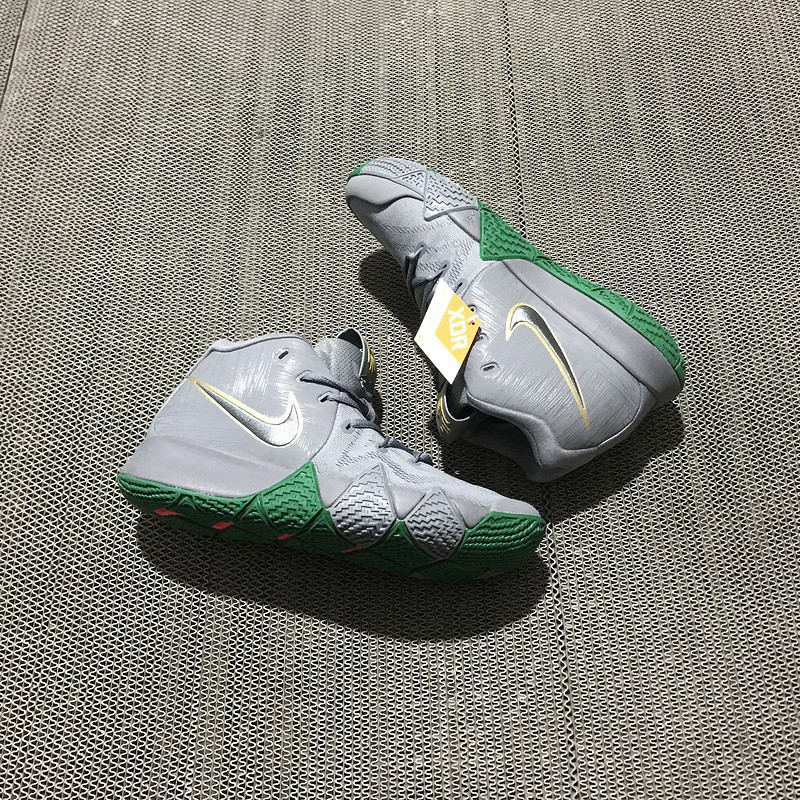 "best loved ad54c a55dc Nike Kyrie 4 ""City Guardians"" Guardian of Boston, Celtics home"